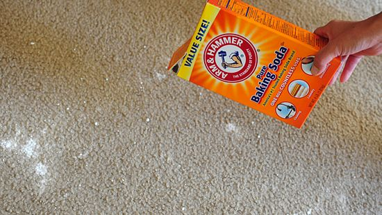 Baking Soda On Carpet